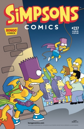 """Simpson Cómics"" #237"