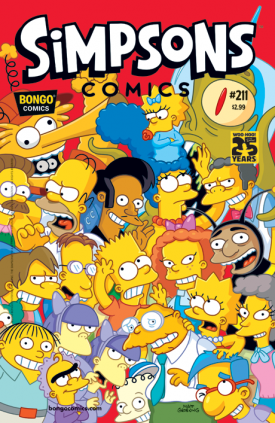 """Simpson Cómics"" #211"