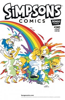 """Simpson Cómics"" #240"