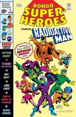 """Bongo Super Heroes"" #7 Starring Radioactive Man"