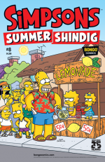 """The Simpsons Summer Shindig"" #8"