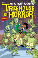 """The Simpsons' Treehouse Of Horror"" #21"