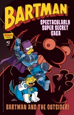 """Bartman: Spectacularly Super Secret Saga"" #2"