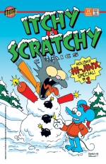 """Itchy & Scratchy Comics Holiday Hi-Jinx Special"" #1"