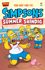"""The Simpsons Summer Shindig"" #7"