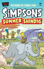 """The Simpsons Summer Shindig"" #6"