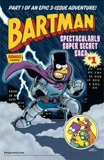 """Bartman: Spectacularly Super Secret Saga"" #1"