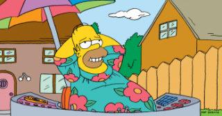 Homer Tamaño King-Size