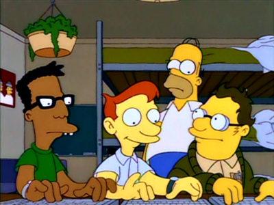 Homer Asiste A La Universidad