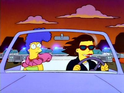 Marge Se Da A La Fuga