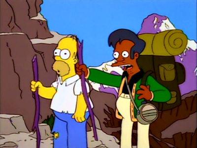 Homer Y Apu