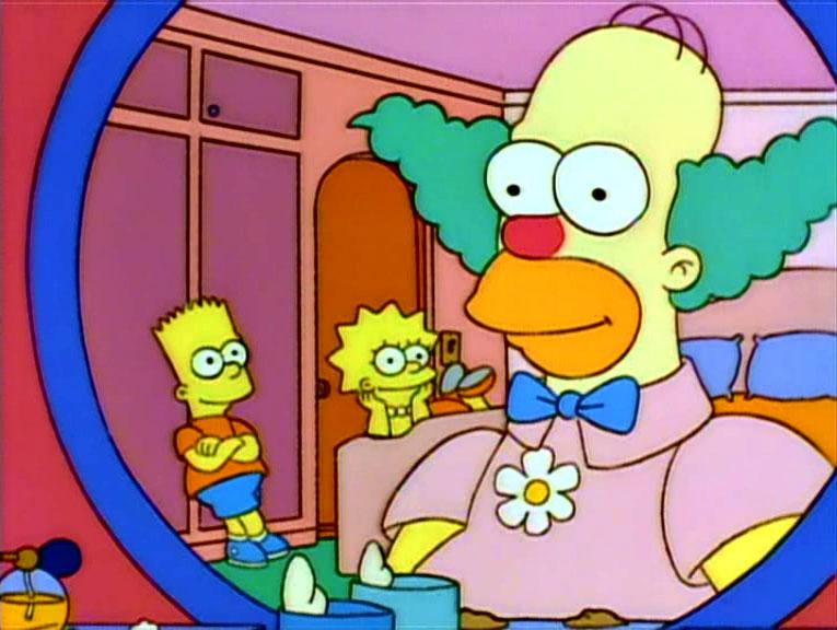Los Simpson - Temporada 6 - Homie, El Payaso