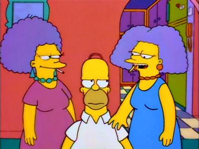 Homer Contra Patty Y Selma