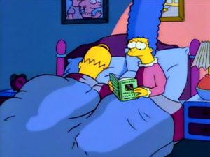 Otro Refrito De Los Simpson. Tema: Romanticismo