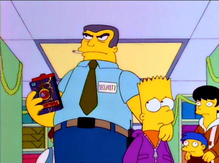 "Los Simpson, episodio: ""Marge, No Seas Orgullosa"""