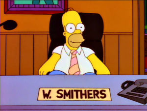 Homer, El Smithers