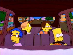 Bart En La Carretera