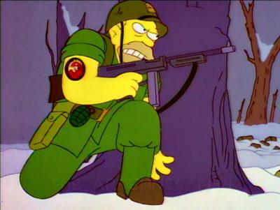 El Furioso Abe Simpson Y Su Descentrado Descendiente En La Maldición Del Pez Volador