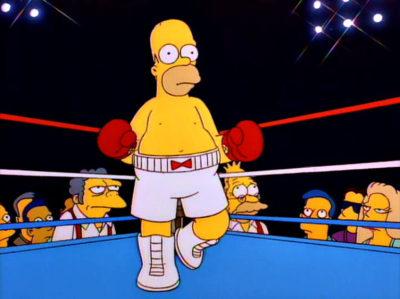 Más Homer Será La Caída