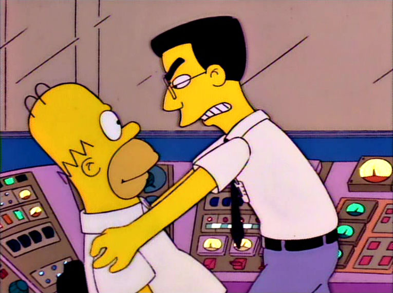 Los Simpson - Temporada 8 - El Enemigo De Homer