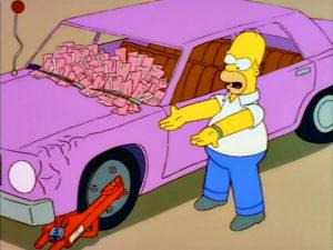 La Ciudad De Nueva York Contra Homer Simpson