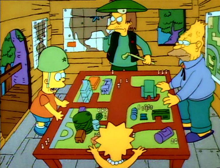 Los Simpson - Temporada 1 - Bart, El General