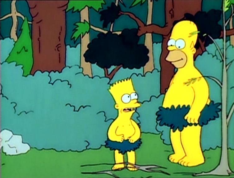 Los Simpson - Temporada 1 - El Abominable Hombre Del Bosque