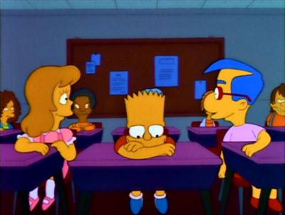 El Amigo De Bart Se Enamora