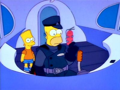 Marge Contra El Monorraíl