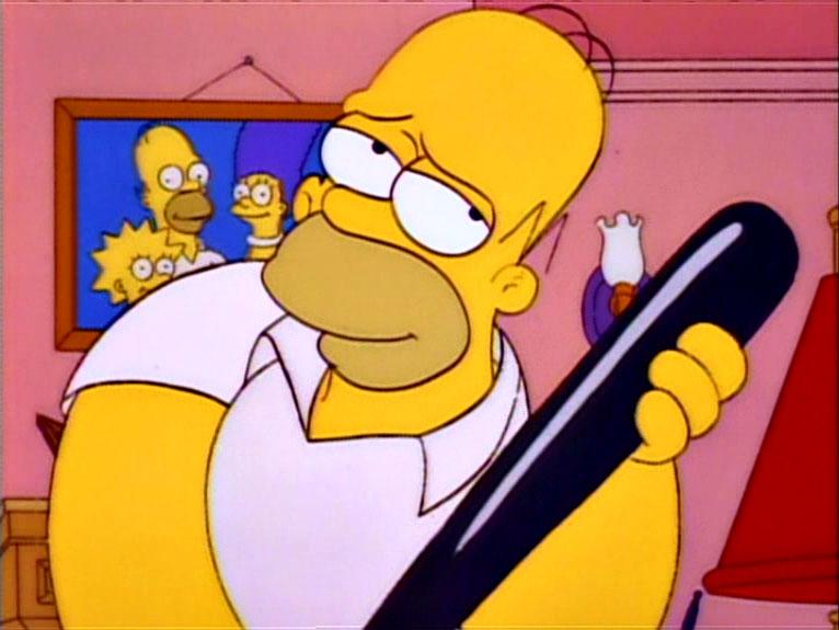 Los Simpson - Temporada 4 - El Día Del Apaleamiento