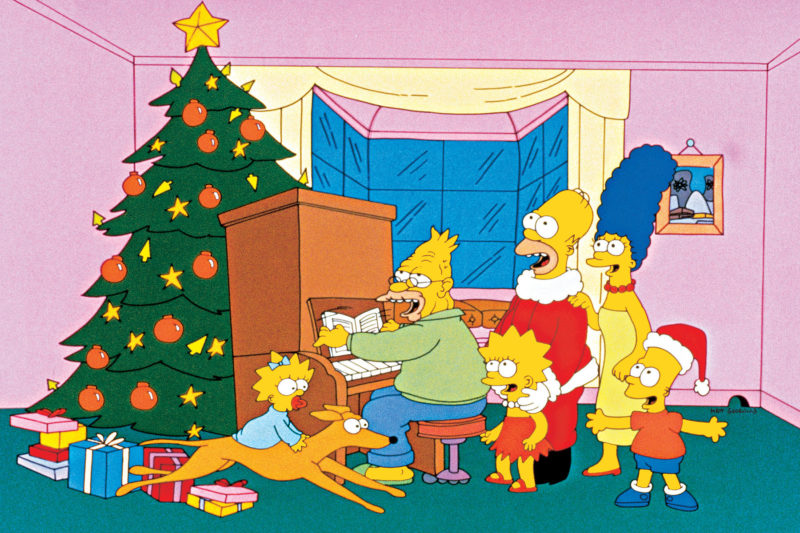 """Imagen promocional de Los Simpson: """"Sin Blanca Navidad"""""""
