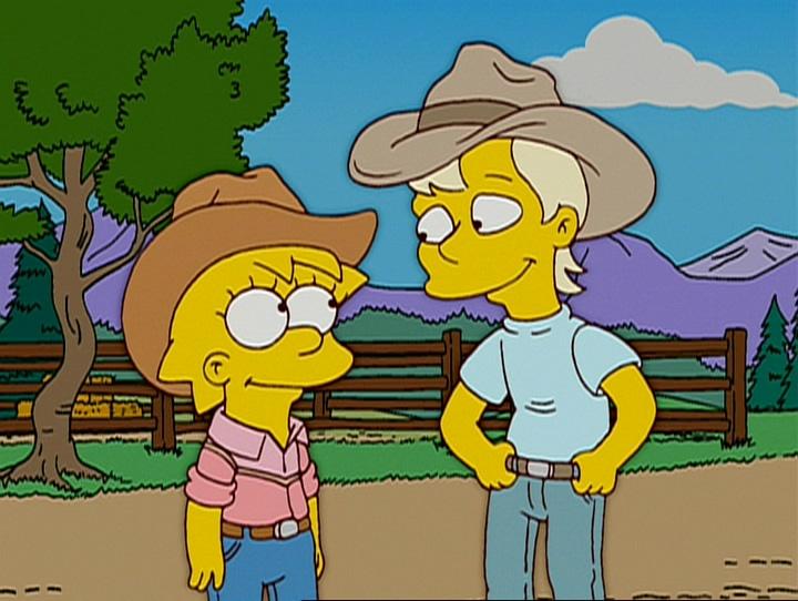 """Los Simpson, episodio: """"Colega, ¿Dónde Está Mi Rancho?"""""""
