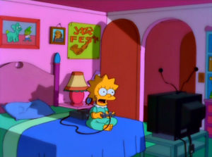 Lisa Obtiene Una Matrícula
