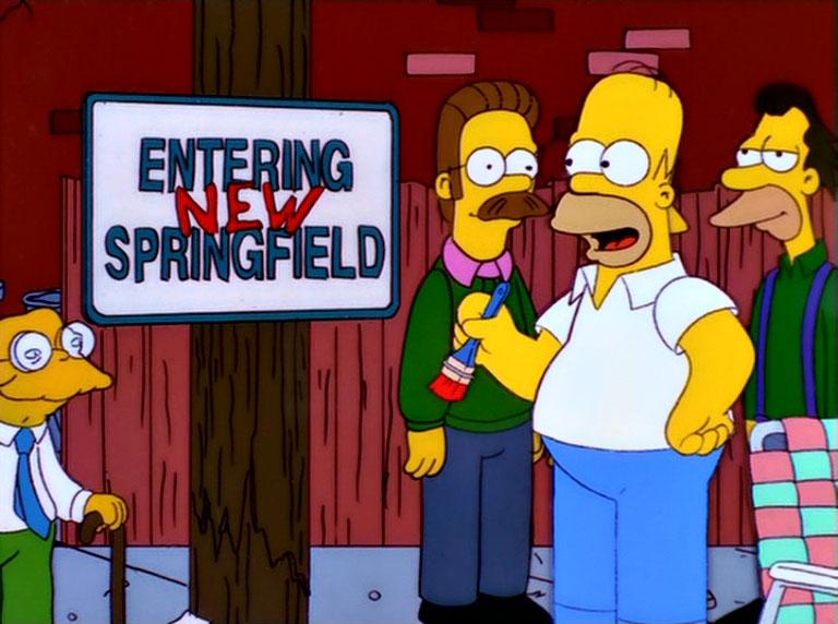 Los Simpson - Temporada 12 - Historia De Dos Ciudades
