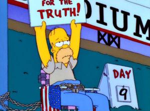 El Hambriento, Hambriento Homer