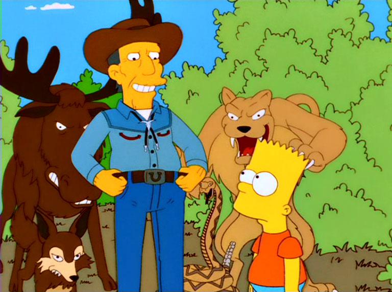 Los Simpson - Temporada 13 - El Último Rifle Del Oeste