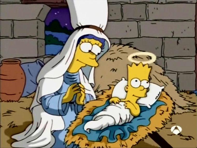 """Los Simpson, episodio: """"Cuentos De Navidad De Los Simpson"""""""
