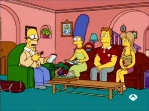 Marge, Homer Y El Deporte En Pareja