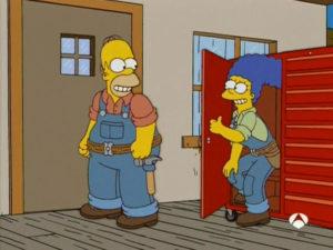 Por Favor, Homer, No Des Ni Clavo