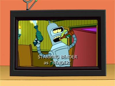 Bender No Debería Salir Por Televisión