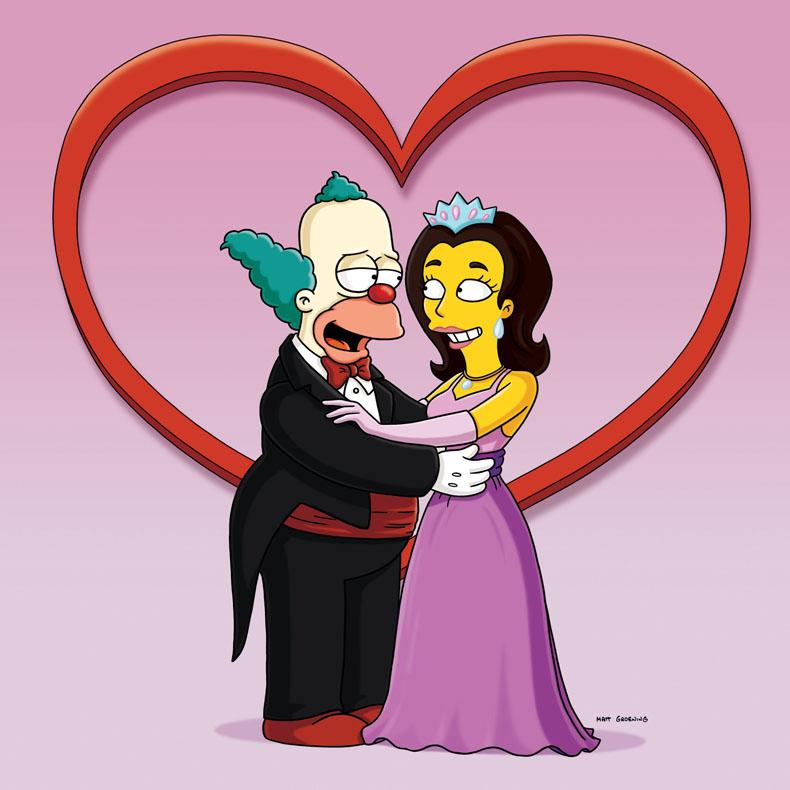 Imagen promocional de la temporada 21 de Los Simpson: Érase Una Vez En Springfield