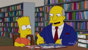 Bart Se Detiene A Oler Los Roosevelt