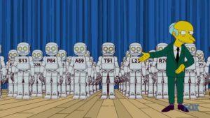 Ellos, Robots