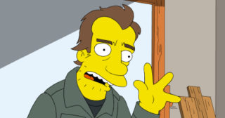 Homer Va A La Escuela De Preparacionismo