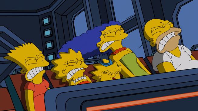 """Imagen promocional de la temporada 26 de Los Simpson: """"The Man Who Came To Be Dinner"""""""