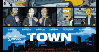 Estreno de Los Simpson en Norteamérica: The Town