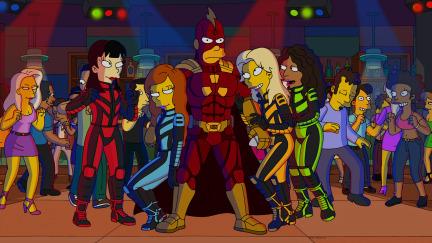 """Imagen promocional de la temporada 25 de Los Simpson: """"Roba Este Episodio"""""""