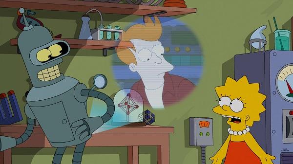 """Imagen promocional de Los Simpson, temporada 26: """"Simpsorama"""""""