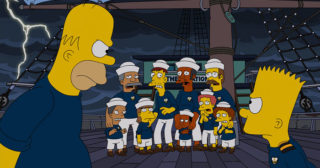 Estreno de Los Simpson en España: The Wreck Of The Relationship (26x02)
