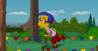 La versión española de Los Simpson cambia temporalmente la voz de Milhouse